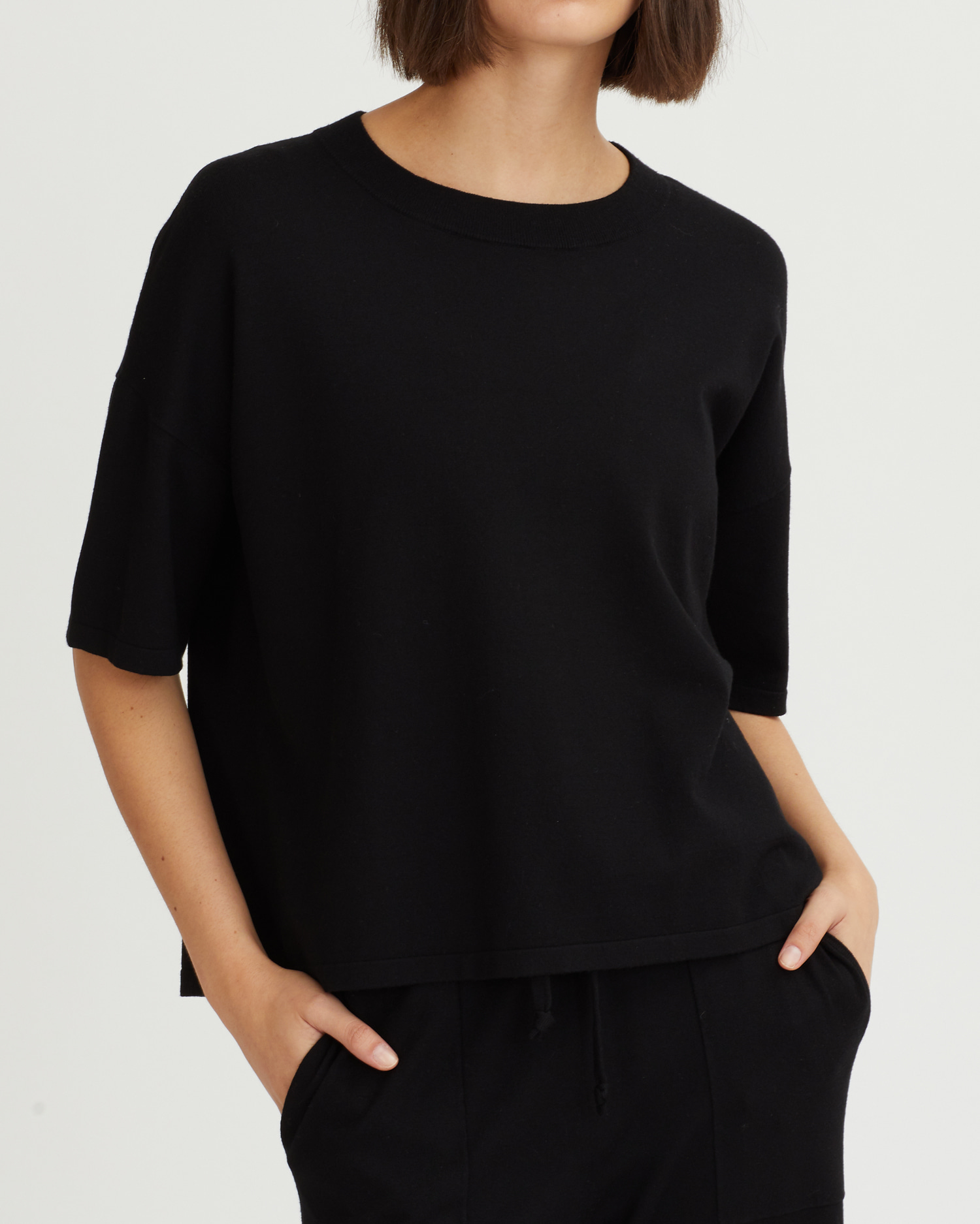 GEMMA TOP BLACK
